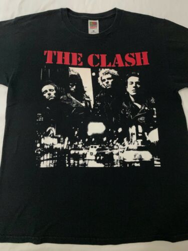 The Clash Vintage Rare T-Shirt. The Only Band That