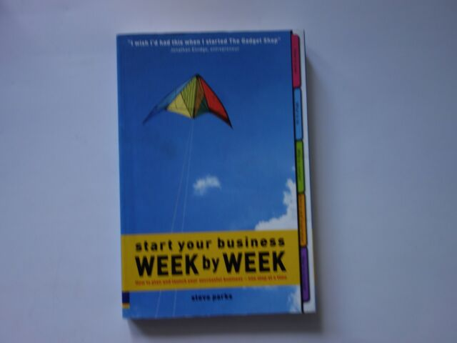 Start your business week by week.  By Steve Parks