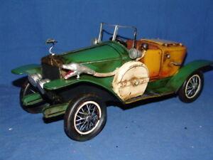 1 Rolls Royce Vert-Jaune Dans Une Boîte 38 X 15,5 15 Cm