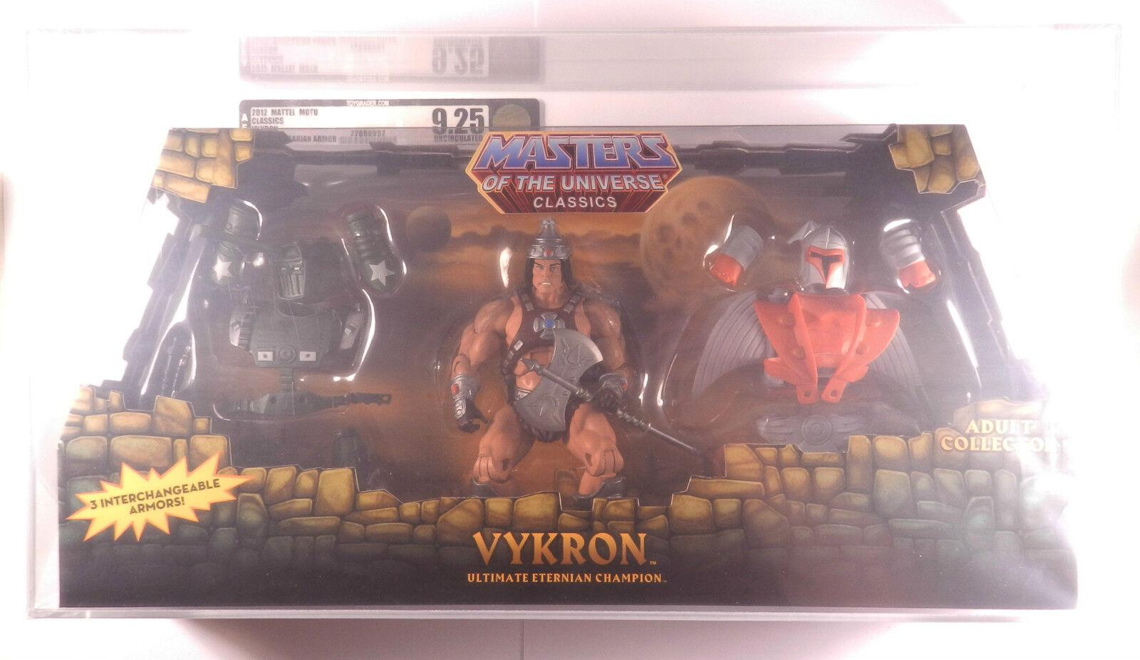 2012 MOTU Classics Classics Classics Vykron AFA U9.25 San Diego Comic Con Exclusiv Barbarian Armor 9ed0d3