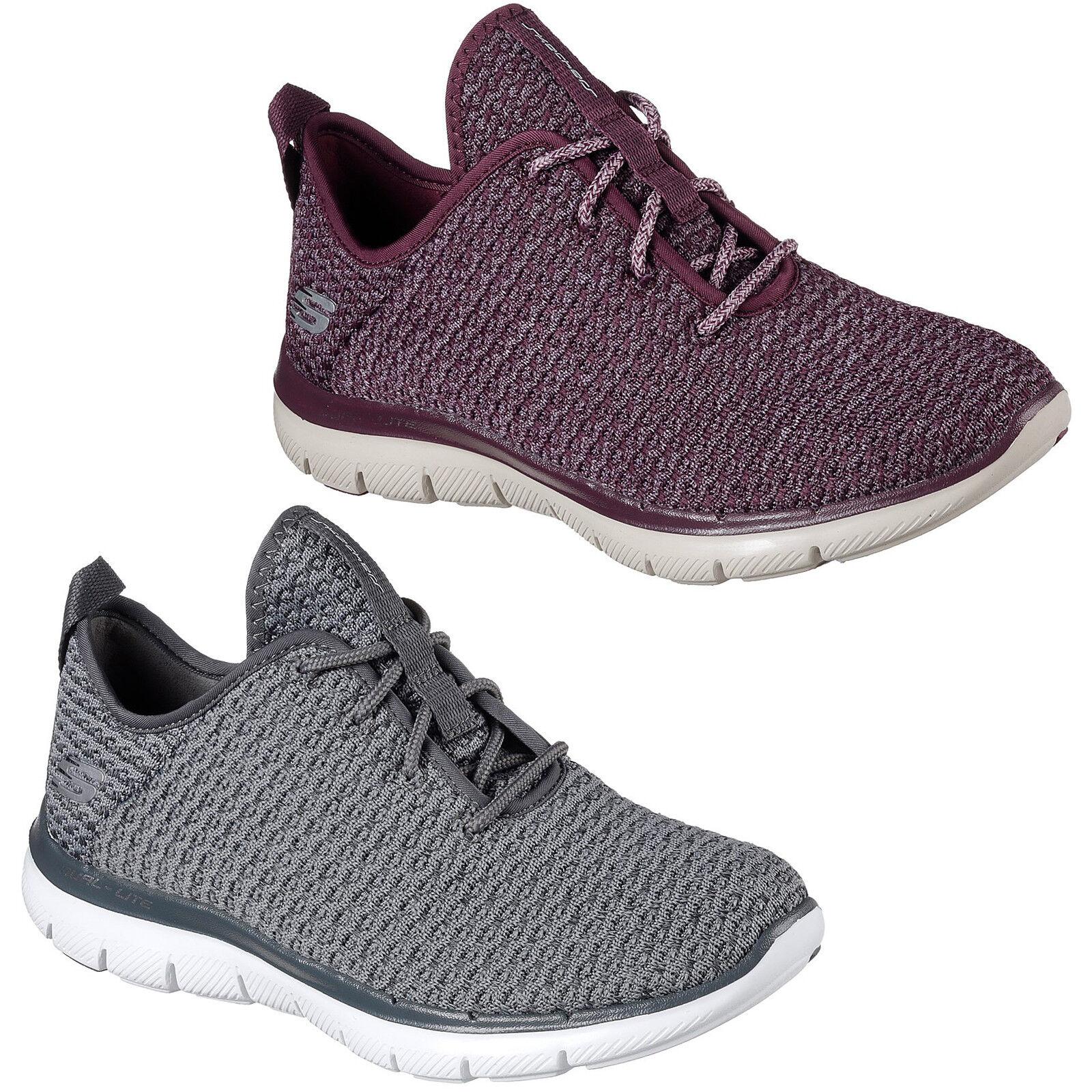 Skechers Flex Appeal 2.0 Bold Move Trainers Damenschuhe Memory Foam Sports Schuhes