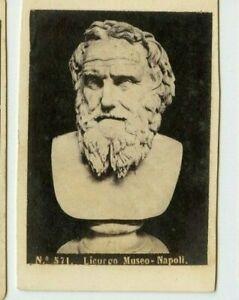 Vintage-CDV-Bust-of-Licurgo-Mueum-of-Naples