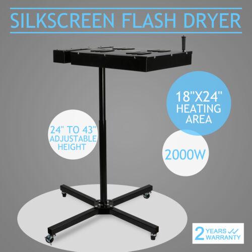 "16/"" 18/"" 24/"" Flash Dryer Silk Screen Printing Equipment T-Shirt Drying Electrical"