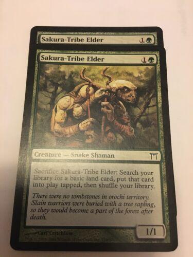 MtG Sakura-Tribe Elder MP x2 Champions of Kamigawa COK