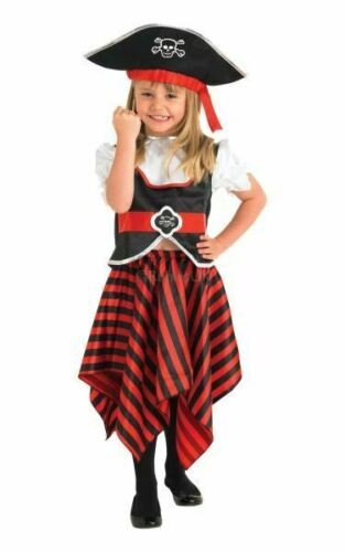 Fille Pirate Fancy Dress Costume