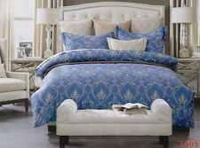 T505 Super King Size Bed Duvet/Doona/Quilt Cover Set New 100% Cotton
