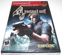 Resident Evil 4 For Playstation 2 Brand Factory Sealed