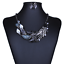 Women-Fashion-Crystal-Necklace-Choker-Bib-Statement-Pendant-Chain-Chunky-Jewelry thumbnail 155