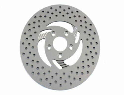 Polished Stainless Steel Razor Rear 11.5 Rotor Brake Disc Harley Softail Dyna XL