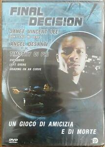 Final-Decision-DVD-Nuovo-sigillato-EP-Enrico-Pinocci