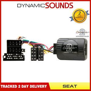 CTSST002-2-Steering-Stalk-Control-Adaptor-Pioneer-For-Seat-Altea-Alhambra-Ibiza