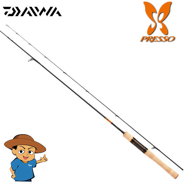 Daiwa 2018 PRESSO AGS 61LS V Light 6'1 trout fishing spinning rod