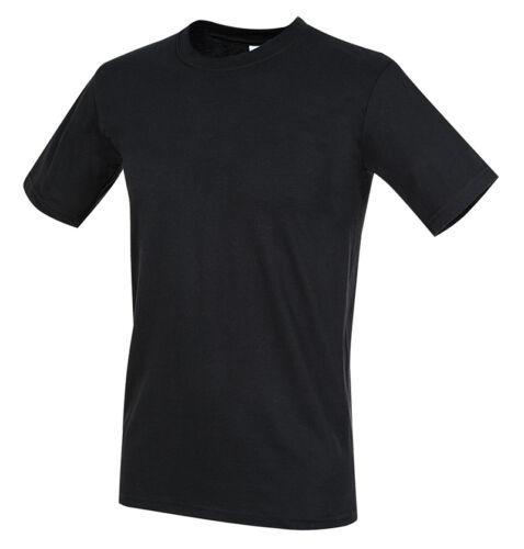 Fitted Linea Corta Maglietta Manica St2010 Uomo shirt Stedman T Personalizzabile w8RSff