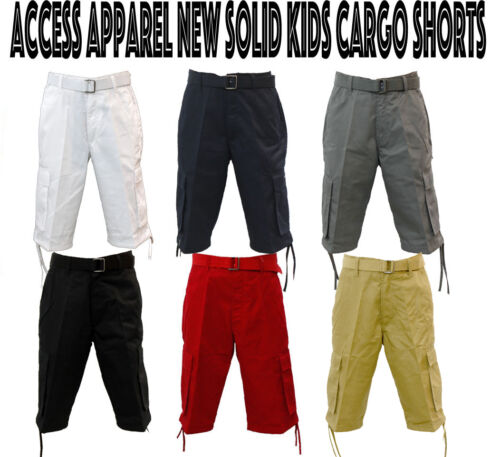 NEW AUTHENTIC KIDS ACCESS BOY CARGO SHORTS SIZE 8 TO 20 AS1505B