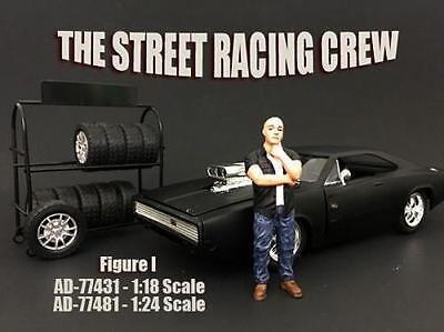 AMERICAN DIORAMA STREET RACING CREW 1:18 FIGURE I 77431