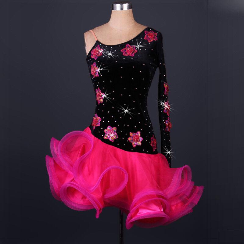 NEU Latino salsa Kleid TanzKleid LatinaKleid Latein Kleid Turnierkleid FM140