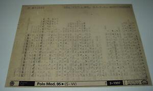 Ersatzteilkatalog-auf-Microfich-VW-Polo-3-III-Typ-6N-ab-Baujahr-1995-Stand-1997