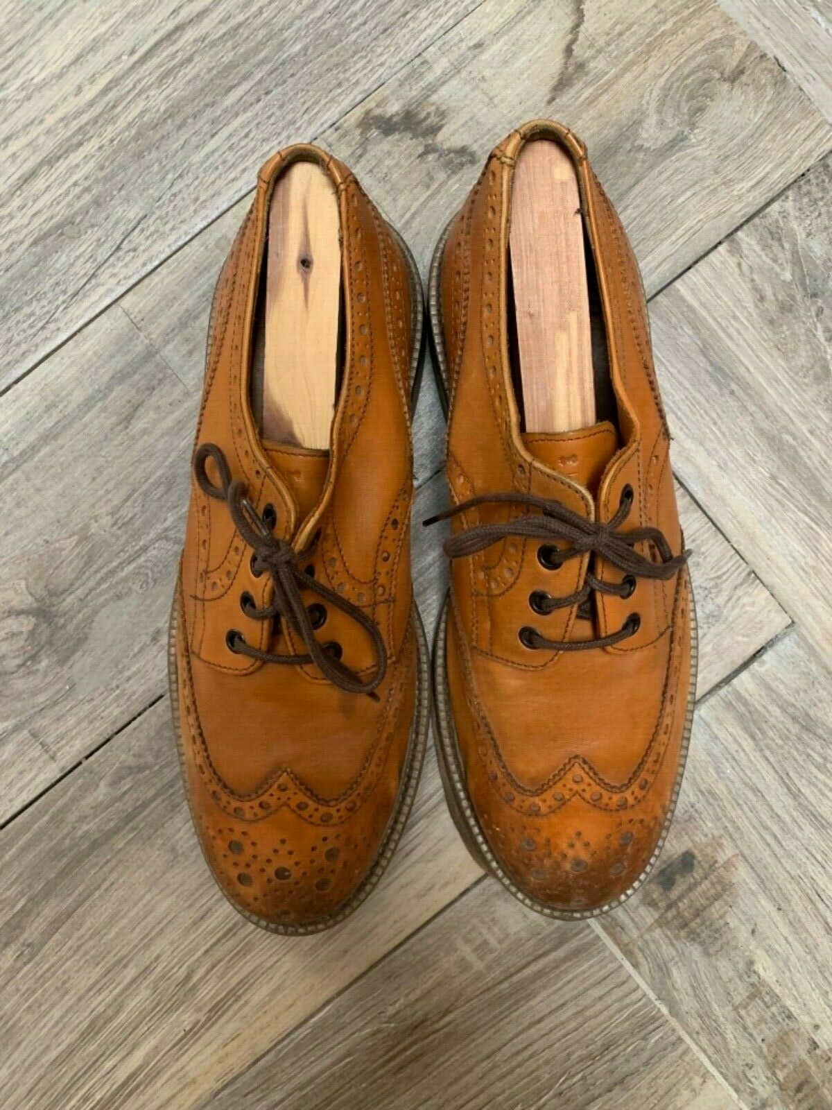 Aldo Mr. B men's brown oxford shoes size 42 US 9
