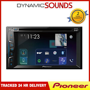 Pioneer-AVH-A3100DAB-Double-Din-Headunit-iPod-iPhone-Bluetooth-DAB-Stereo