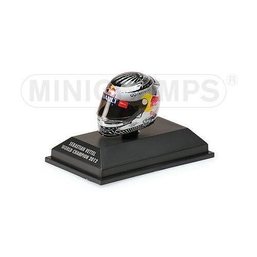 Minichamps 1/8 Arai Casco Sebastian Vettel F1 Campeón Del Mundo Interlagos 2012