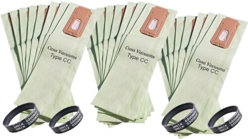 For Oreck XL Upright Vacuum Bags Type CC CCPK8DW Green Double Wall FILTRATION