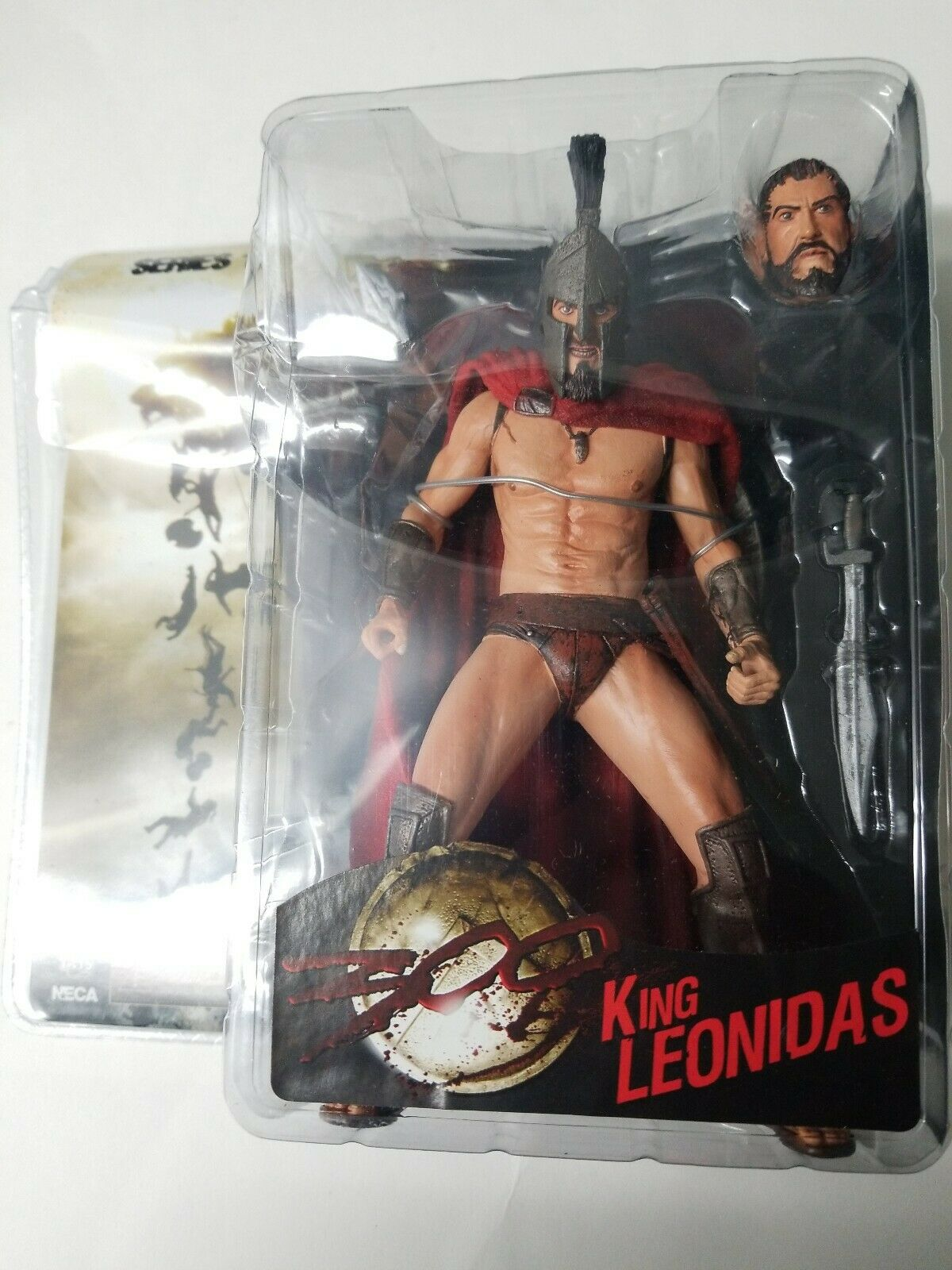 NECA - 300 Movie - Series 1 - King Leonidas Action Figure 7  Reel Toys