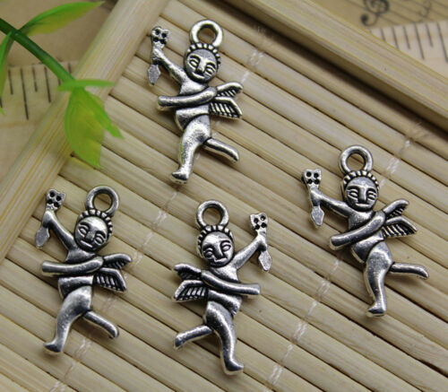 Jewelry Making Cupid Alloy Charm Pendant DIY for Bracelet Necklace 20~50pcs