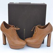 BOTTEGA VENETA New sz 37 - 7 $950 Designer Womens Lace Up High Heels Shoes