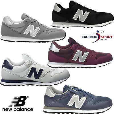new balance gm500 nero