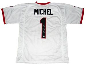 sony michel signed jersey