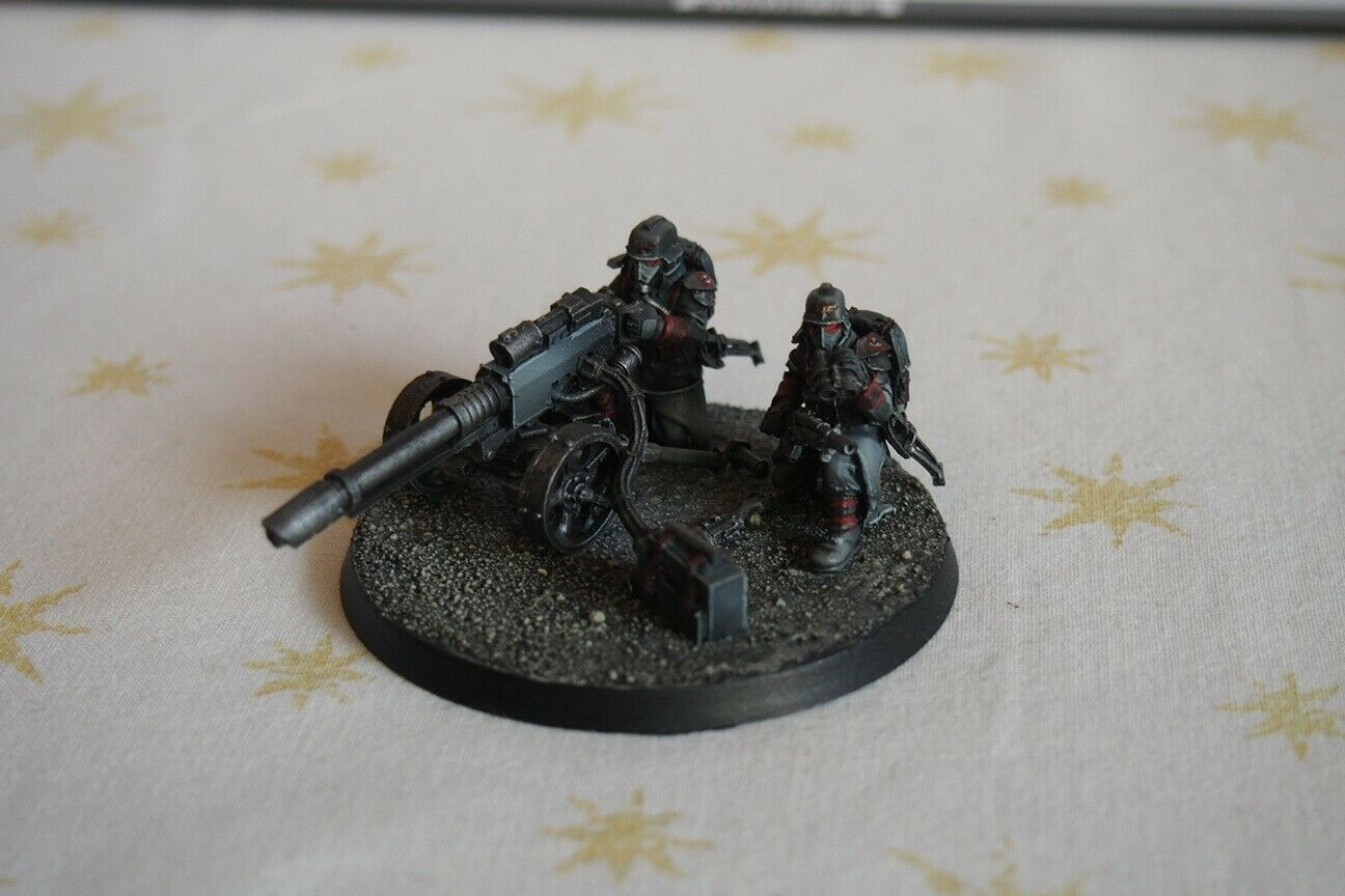Astra millitarum death korps of krieg lascannon team forgeworld