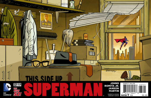 SUPERMAN #37 DARWYN COOKE VARIANT EDITION COVER DC COMICS 2014