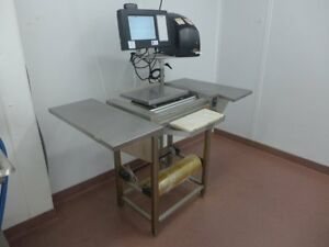 2015-Hobart-Access-Meat-Hand-Wrap-HWS-4-Station-EPCP-Console-EPP-Printer-Scale