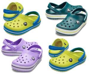 Crocs-Crocband-Kids-Boys-Junior-Zoccoli-Scarpe-Estate-Spiaggia