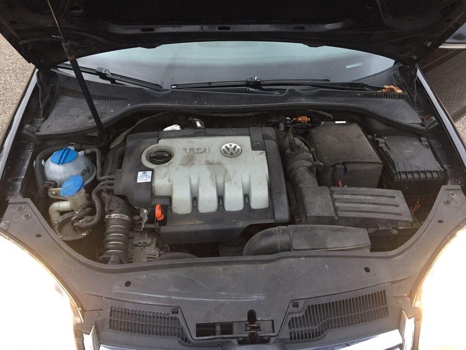 VW Golf V, 2,0 TDi 140 Comfortline Variant, Diesel