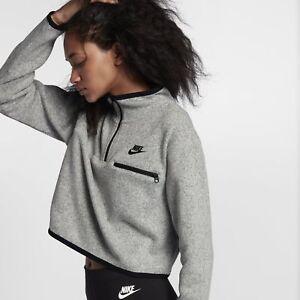 063 Nike Xl gris oscuro 914400 Top talla Negro corto Sportswear mujer para PzwrPq