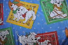 Disney VINTAGE CTI  / Reversible duvet cover 101 Dalmatiens and its pillowcase