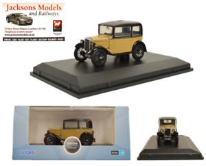 Oxford ASS001 Austin Seven RN Saloon Fawn 1:43 Scale