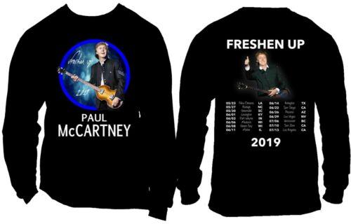 Paul McCartney 2019 Freshen Up Tour t shirt 1