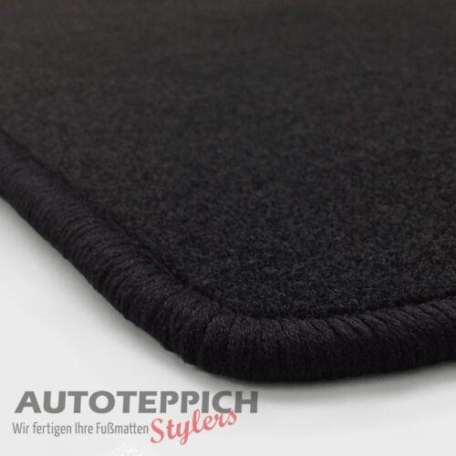 NF Velours schwarz Fußmatten paßt für BMW 3er E36 Coupe Limo Touring