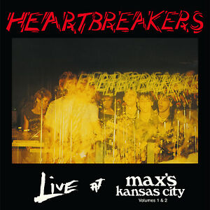 HEARTBREAKERS-039-Live-at-Max-039-s-Kansas-City-Vols-1-amp-2-039-CD-Johnny-Thunders-NYC-punk