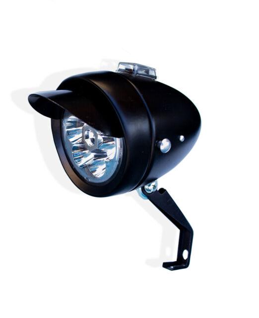 Bicycle Front Headlight Lowrider Retro 7 LED Battery Powered Beach Cruiser Light