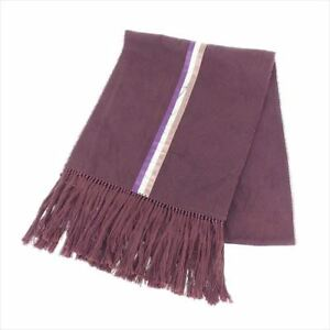 Image is loading Louis-Vuitton-Scarf-Monogram-Purple-cotton-Woman-unisex- a196345ec0d