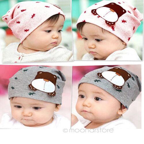 Color Infant Baby Autumn Winter Cartoon Dog Toddler Beanie Hat Cute Warm Cap