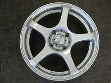 15 X 6.5 Enduro Rage Silver Wheel/Rim Part ED6511440S Model 708F Bolt 4X114. 3