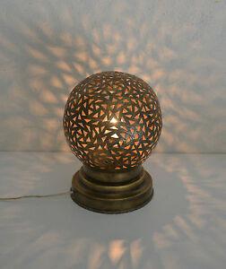 Lampe De Chevet Marocaine Laiton Lanterne M1 Photophore Decoration