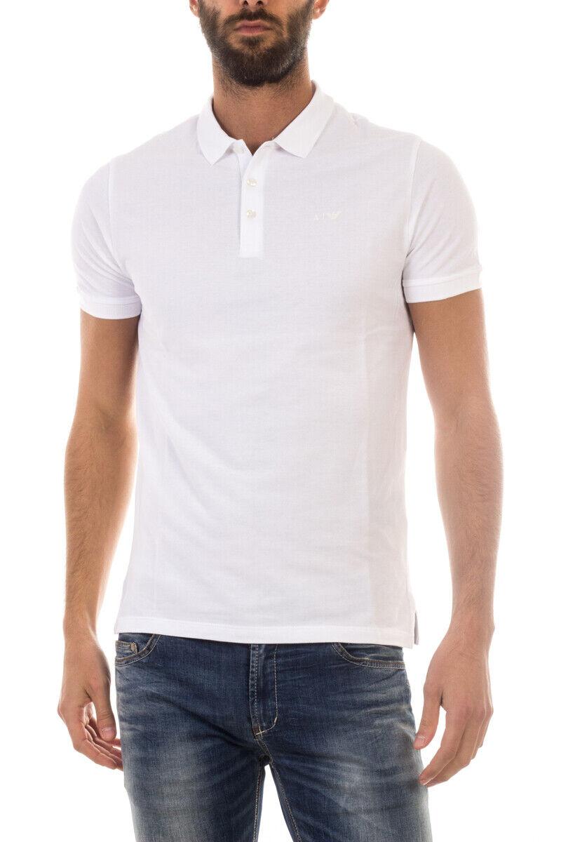 Armani Jeans AJ  Camisa Polo Algodón Hombre blancoo 8N6F126J0SZ 1100 Talla XXL poner Oferta.  ahorrar en el despacho