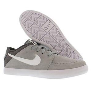 Nike Suketo 2 Leather Base Grey White Black casual 631685-010  9b88133ecb3a