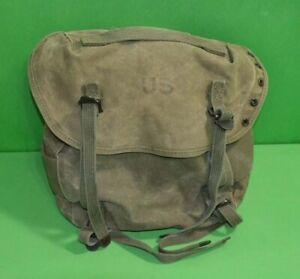 M-1956-1961-Combat-FIELD-PACK-CANVAS-034-Butt-Pack-034-ORIGINAL-1962-Vietnam-War-era