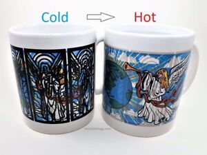 Wondermugs Color Changing Angels Coffee Cup Mug